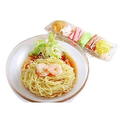「龍亭」冷やし中華(涼拌麺)