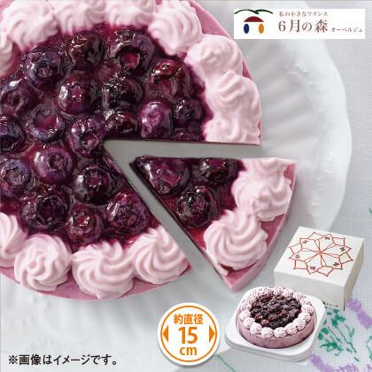 ブルーベリーチーズケーキ リラベール