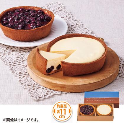 能登半島ブルーベリーの濃厚チーズケーキ 2種