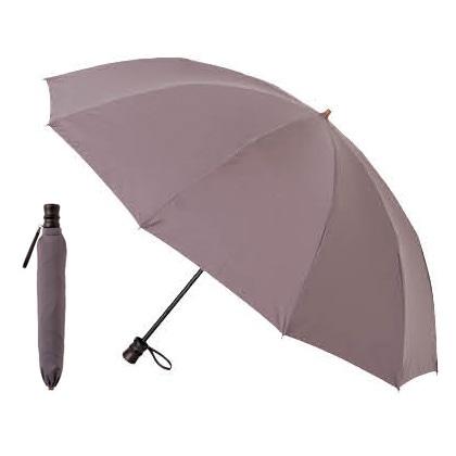 [小宮商店] 超撥水折りたたみ傘 グレー