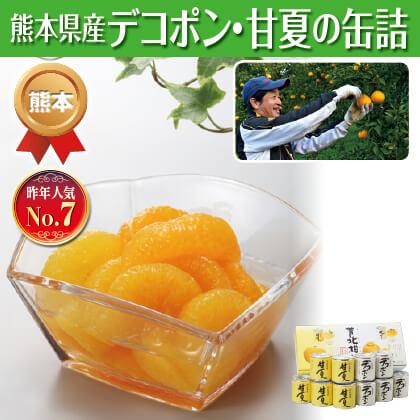 デコポン・甘夏缶詰(10缶)