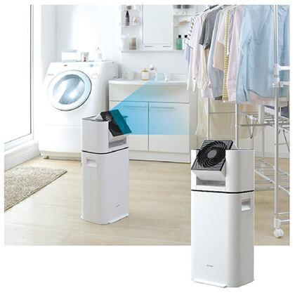 サーキュレーター衣類乾燥除湿機