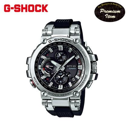 [G−SHOCK]ソーラー電波リストウォッチ シルバー