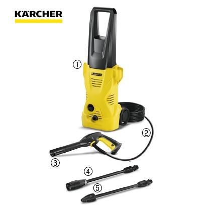〈ケルヒャー〉高圧洗浄機 K2