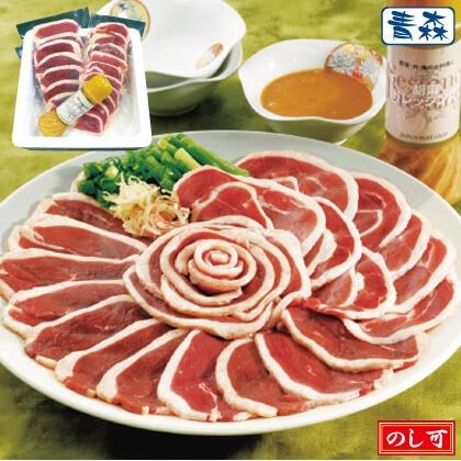 青森県産鴨しゃぶしゃぶ肉400g