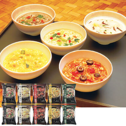 養命酒製造 五養粥5種×2食 計10食セット