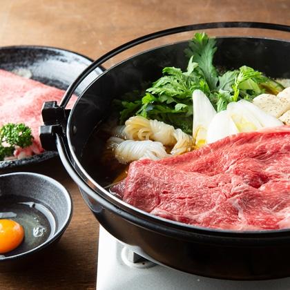 奈良 大和牛 すき焼き