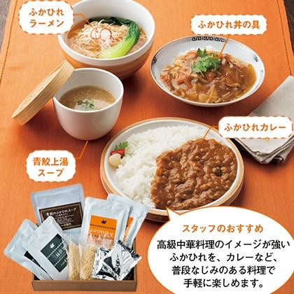 〔日本橋古樹軒〕 ふかひれ麺・カレーセット(スープ付)