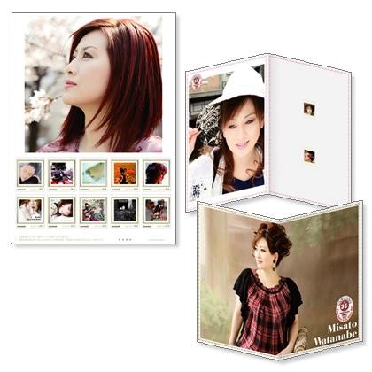 デビュー35周年記念「渡辺美里」フレーム切手セット Vol.2