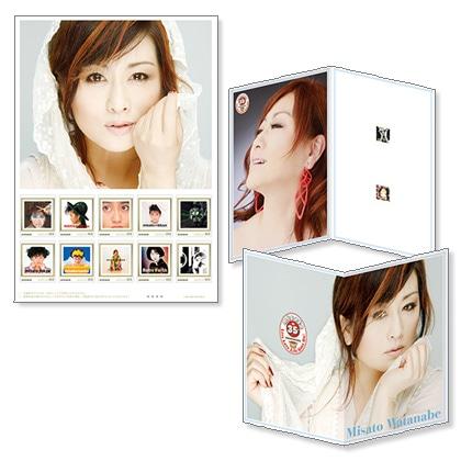 デビュー35周年記念「渡辺美里」フレーム切手セット Vol.1