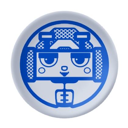 オトッペ キャラクター豆皿 メタルク