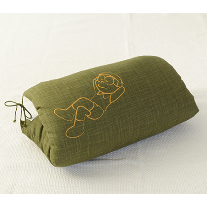 のび太のお昼寝座布団 緑