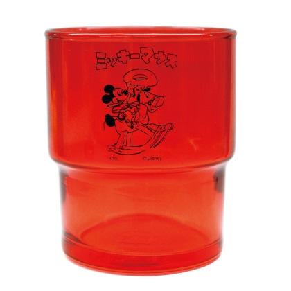 カラーグラス(ミッキーマウス)