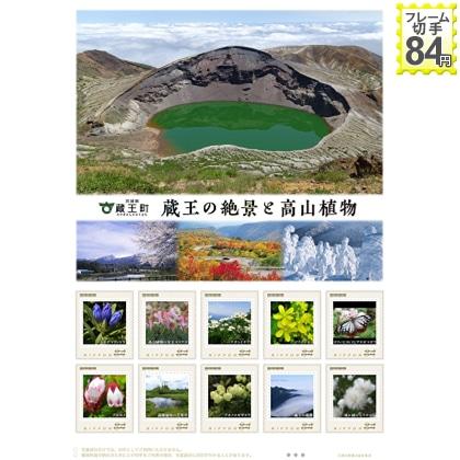 蔵王の絶景と高山植物