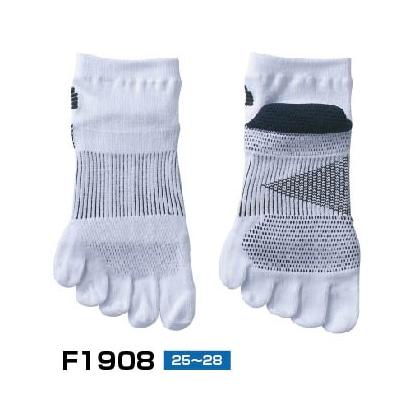高機能ソックス ホワイト 25〜28�p F190830