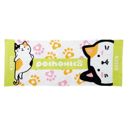 pochaneco フェイスタオル ミケ NTF01MIKE