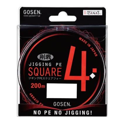 PESQUARE4 200m 23lb(1.5) GL432023