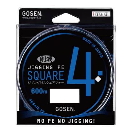 PESQUARE4 600m 23lb(1.5) GL436023