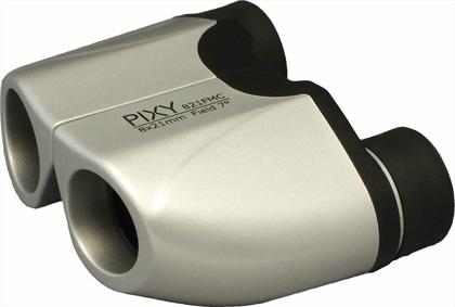 PIXY 双眼鏡 8x21FF MC シルバー