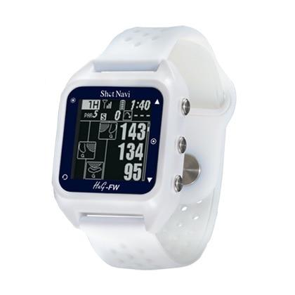GPSゴルフナビ ShotNavi HuG-FW ホワイト