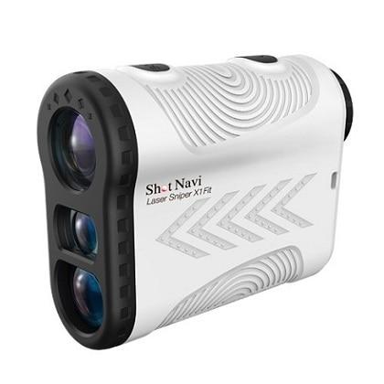 レーザー距離計測器 ShotNavi Laser Sniper X1 Fit ホワイト