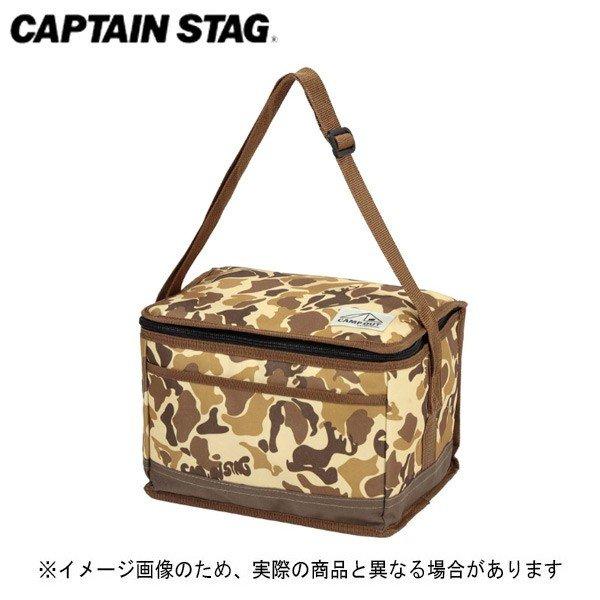 キャプテンスタッグ キャンプアウト クーラーバッグ 6L(カモフラージュ) UE-541 ソフトクーラー 保冷バッグ 保冷キャンプ用品 アウトドア用品
