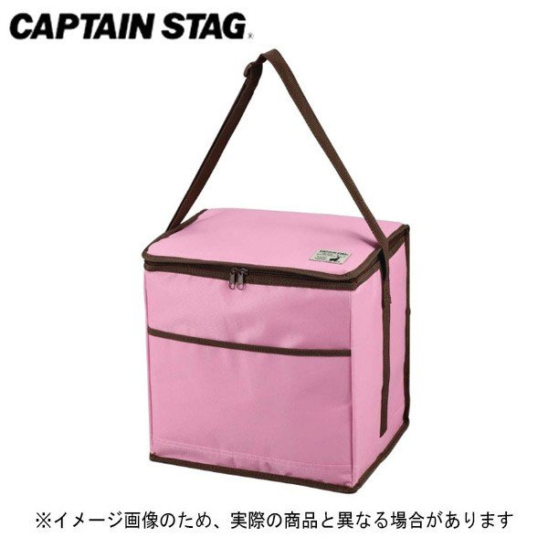 キャプテンスタッグ CSシャルマン クーラーバッグ 24L(ピンク) UE-550 ソフトクーラー 保冷バッグ 保冷キャンプ用品 アウトドア用品
