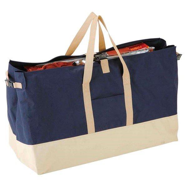 キャプテンスタッグ 大型収納トートバッグ L ネイビー M-1680 バッグ 鞄 アウトドア