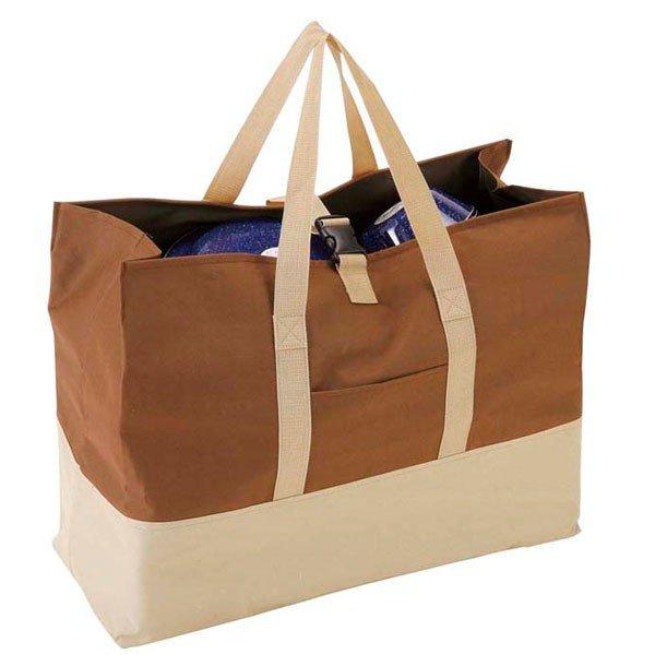 キャプテンスタッグ 大型収納トートバッグ M ブラウン M-1681 バッグ 鞄 アウトドア
