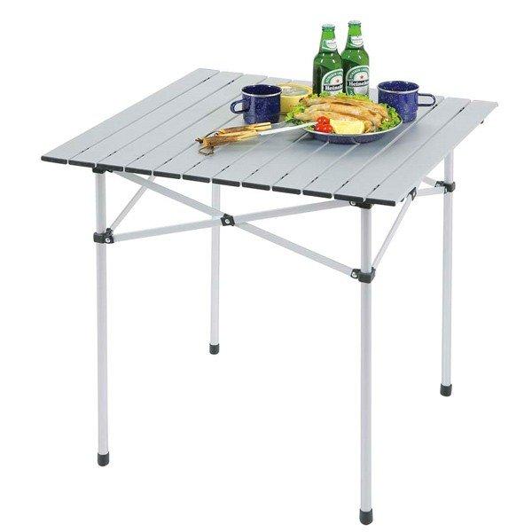 キャプテンスタッグ トラッド アルミロールテーブル S M-3765 アウトドア テーブル キャンプテーブル
