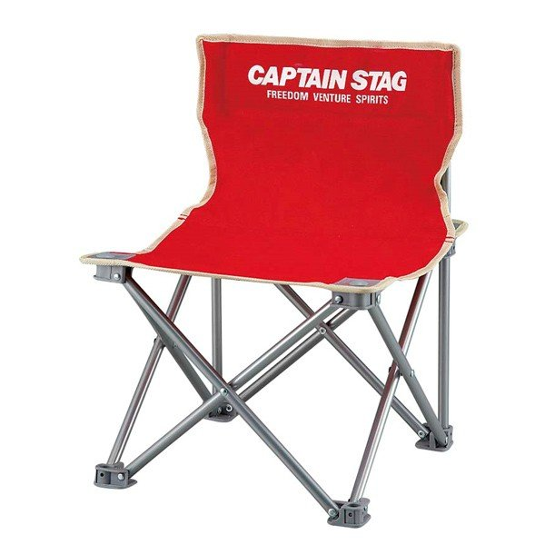 キャプテンスタッグ パレット コンパクトチェア レッド M-3919 コンパクト チェア