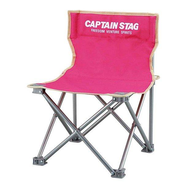 キャプテンスタッグ パレット コンパクトチェア ピンク M-3920 アウトドア チェアー コンパクト