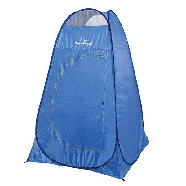 キャプテンスタッグ シャイニーリゾート ポップアップ着替えテントUV ブルー M-5788 着替え テント 簡単 キャンプ アウトドア 用品