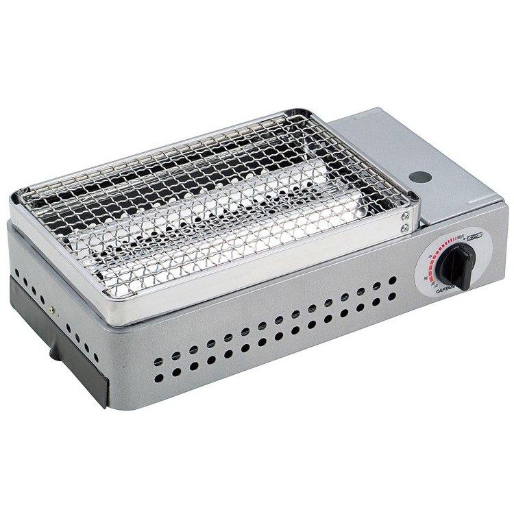 キャプテンスタッグ 炉端焼 卓上カセットコンロ M-6303 シングルバーナー アウトドア バーナーキャンプ用品 アウトドア用品