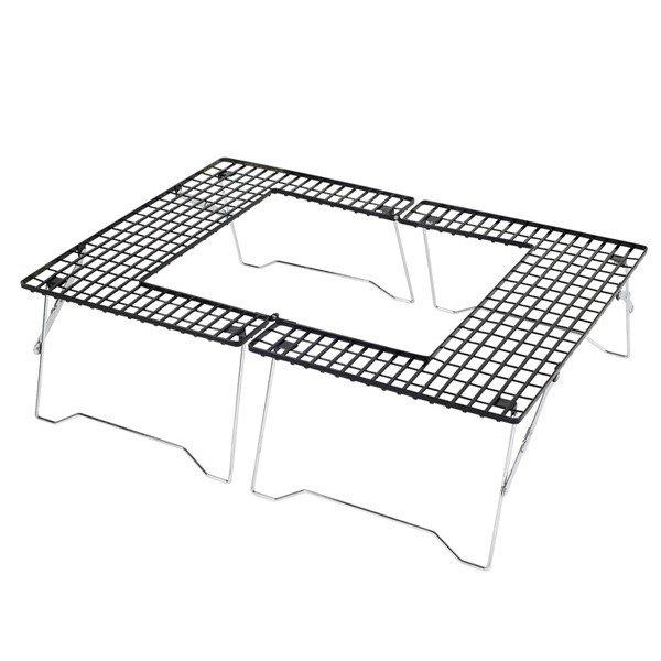 キャプテンスタッグ ファイアグリル テーブル M-6420 アウトドア テーブル キャンプ