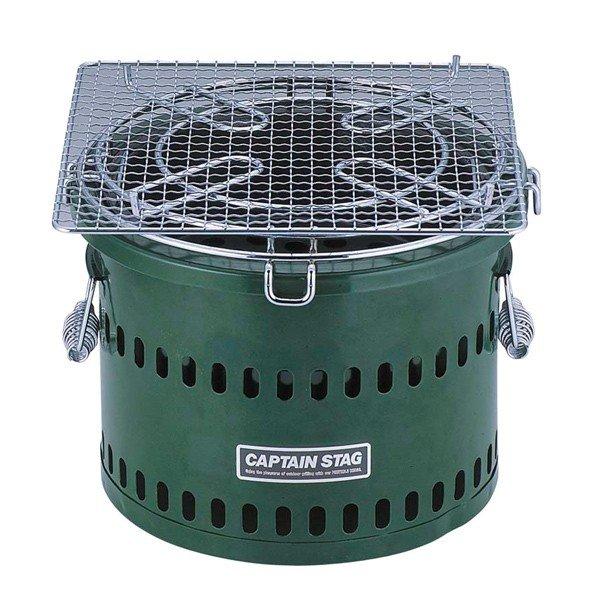 キャプテンスタッグ 炭焼き名人 万能七輪 水冷式 M-6482 七輪 ストーブ キャンプキャンプ用品 アウトドア用品