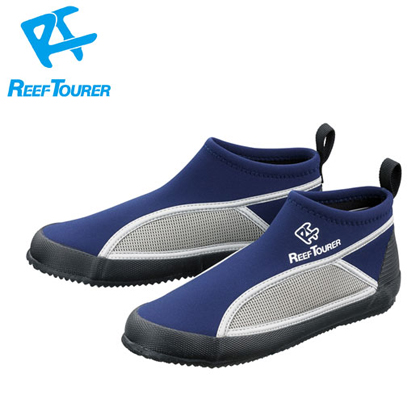 【ReefTourer】RBW3041 マリンシューズ BL(ブルー)【シュノーケリング用】 26cm