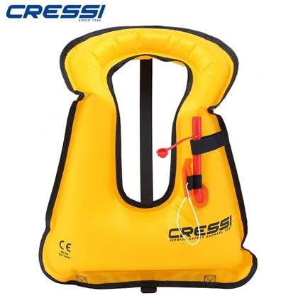 【クレッシーサブ】シュノーケル ベスト CRESSI スノーケリングベスト(大人用)【シュノーケリング用】 【色を選択】