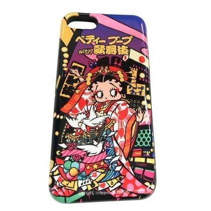 ベティー ブープ/ICカード封入型スマホカバー(for iPhone7/8)