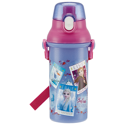 直飲プラワンタッチボトル アナと雪の女王2