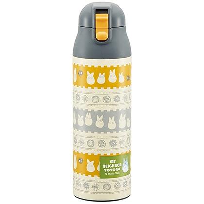 超軽量・コンパクトロック付ワンプッシュステンレスマグボトル 500ml 小トトロ SDPC5