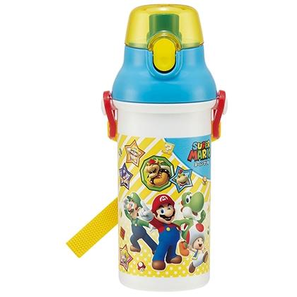 抗菌食洗機対応直飲プラワンタッチボトル スーパーマリオ 21