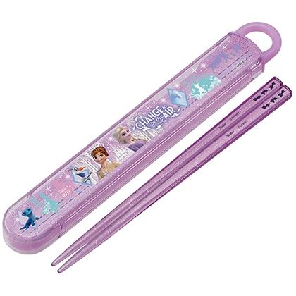 抗菌スライド式箸箱セット アナと雪の女王 (21)