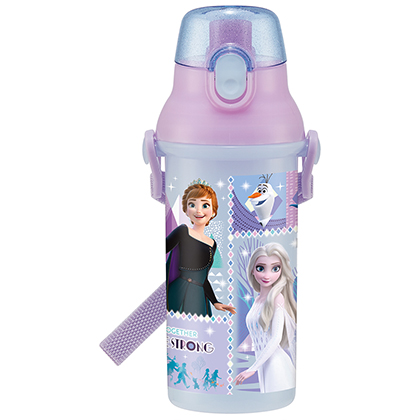 抗菌食洗機対応直飲プラワンタッチボトル アナと雪の女王 (21)