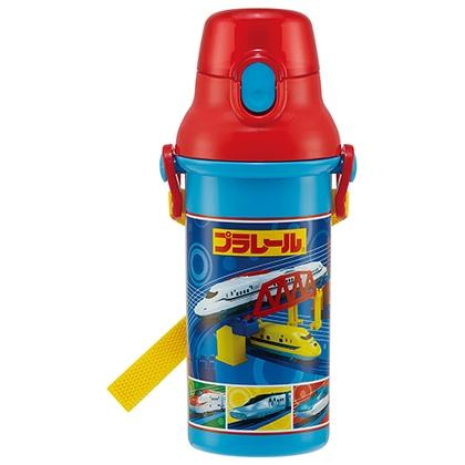 抗菌食洗機対応直飲プラワンタッチボトル プラレール21