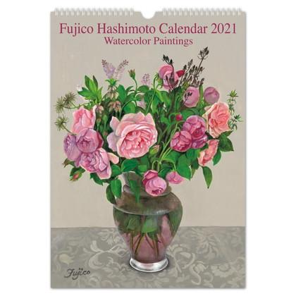 CAL−10 2021版カレンダーFujico Roses L