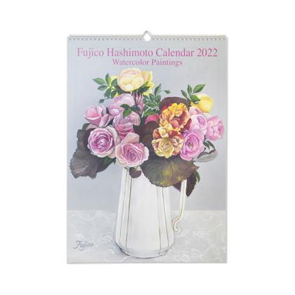 CAL−049  2022年版カレンダー 橋本不二子 Roses LL