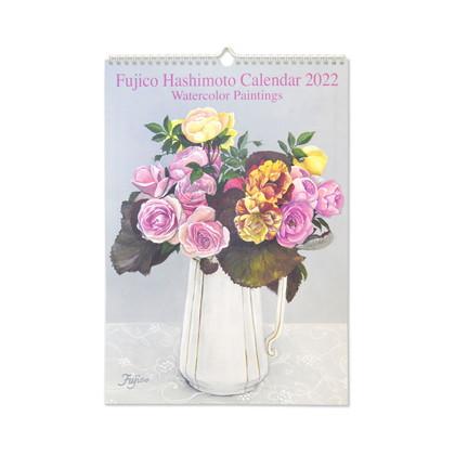 CAL−050  2022年版カレンダー 橋本不二子 Roses L