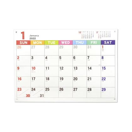 CAL−076  2022年版カレンダー ジャバラカレンダータテノビ A5