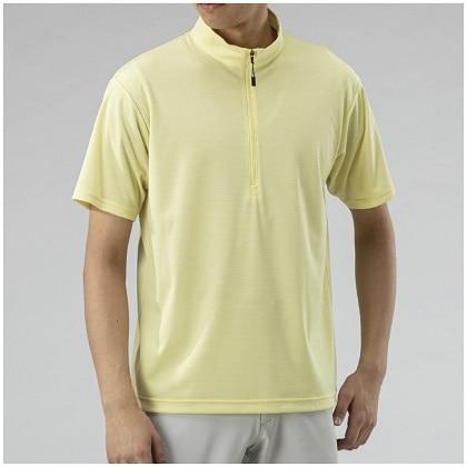 ドライベクタージップ半袖シャツ[メンズ]  レモングラス・M